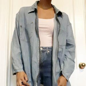 DENIM & CO.   Vintage lightweight denim jacket
